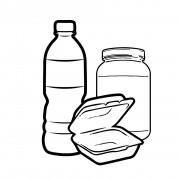 1.3. Контейнеры, коробки, бутылки, банки одноразовые