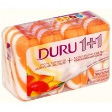 Мыло Duru 1+1 4х90 (360) г в ассортименте