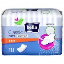 Прокладки Bella nova classic komfort dry 3 капли с крыльями 10шт. .