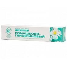 Крем Ромашково-глицериновый д/рук 50мл туба пласт.НК