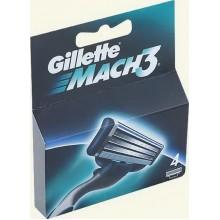 Кассета Gillette Mach 3 . 4шт.