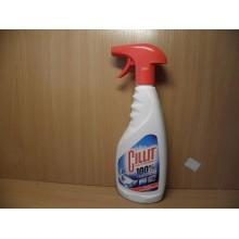 Средство для удаления известкового налета и ржавчины Cillit для сантехники жидкость 450 мл с курком
