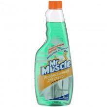 Средство для стёкол Мистер Мускул в ассортименте жидкость 500 мл запаска