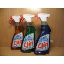 Средство для стекол Clin в ассортименте жидкость 500 мл с курком