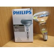Лампа цоколь Е14 40Вт зеркальная R50 Philips