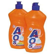 Средство для посуды AOS в ассортименте жидкость 450 г бутылка пластик