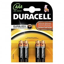 Батарейка 1шт. Duracell . AAA LR03 1,5V