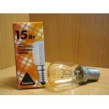 Лампа д/холодильника 15Вт .