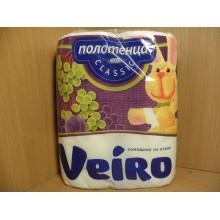 Полотенца бумажные Veiro Classic 2шт. 2-слойные белые арт.5П22/5П22Д