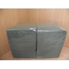 Салфетки бумажные 24х24см 400шт. 1-слойные зелёные .