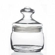 Банка д/сыпучих продуктов 0,5л Cesni со стеклянной крышкой стекло без упаковки арт.97554SLB