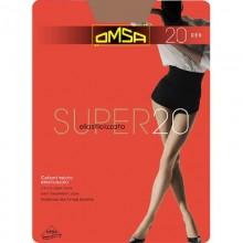 Колготки Omsa SUPER 20d 4разм. caramello
