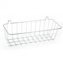 Полка для ванной прямоугольная навесная Slim хром арт.478-005 27.10.22 Гала-Центр