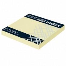 Бумага д/записи с клеевым краем 100л. 75х75мм цветная в пакете .