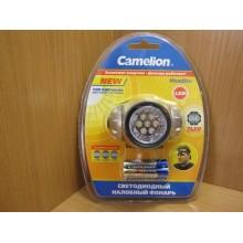 Фонарь Camelion 7 светодиодов налобный арт.5310