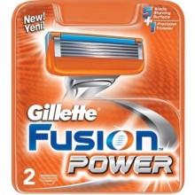 Кассета Gillette Fusion Power . 2шт.