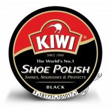Крем д/обуви Kiwi черный . 50мл банка металл .