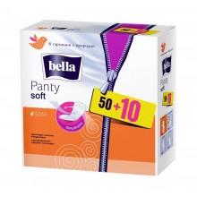 Прокладки Bella panty soft ежедневные . 50+10шт. .