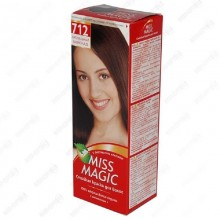 Краска д/волос Miss Magic № 712 натуральный шоколад