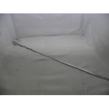 Шампур 1шт. 610/620х10х1,5мм плоский ручка металл без упаковки .