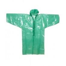 Плащ-дождевик с рукавами унисекс размер 70-80х120см на кнопках полиэтилен цвет в ассортименте