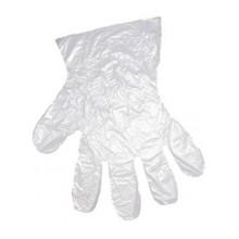 Перчатки хозяйственные одноразовые 50 пар полиэтилен M (7.5-8)