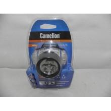 Фонарь Camelion 3 светодиода налобный арт.5321