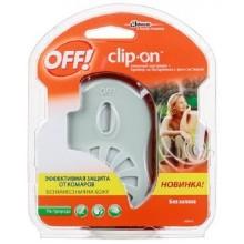 Прибор с фен-системой OFF Clip-On на батарейках+сменный картридж .