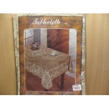 Скатерть винил 120х150см прямоугольная коричневая Tablecloth,Полат Ласе Фантастик,Садов