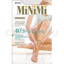 Носки MINIMI Brio Lycra 2 пары 40d caramello