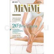Носки Minimi Brio Lycra 2 пары 20d caramello
