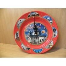 Часы Серпухов Церковь d200мм в коробке .