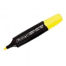 Маркер 1-5мм выделитель желтый Berlingo,OfficeSpace арт.Т6017,Т7017,BTt_00105,16441