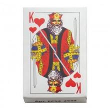 Карты игральные А8 54л. в коробке картон арт.РС54_2939,9810