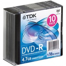 Диск DVD+R 4,7Gb 16х SP-100 SmartTrack арт.ST000223