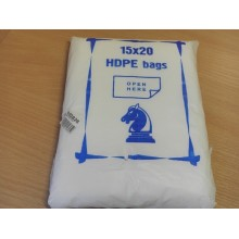 Пакет фасовочный 15х20см 1000шт. 6мкм (10)