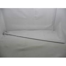 Шампур 1шт. 550х5х1,5мм с уголком ручка металл без упаковки Домашний сундук арт.ДС-214