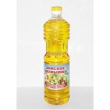 Масло в ассортименте подсолнечное нерафинированное 0,9/1,0 л в бутылке пластик /15