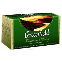 Чай зеленый Greenfield 25 пакетиков в коробке /10