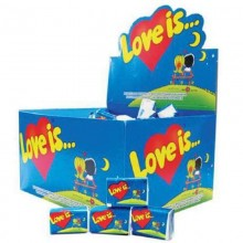 Жевательная резинка Love is . 4,2г /100