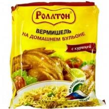 Вермишель Роллтон с курицей 60г в пакете /42
