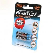 Аккумулятор 1шт. Robiton NI-MN 1100 AAA 1,2V