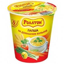 Лапша Роллтон с курицей 65г в стакане /24