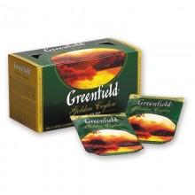 Чай чёрный Greenfield 25 пакетиков в коробке /10
