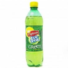 Напиток зеленый чай Lipton . 0.6л в бутылке пластик /12