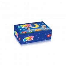 Гуашь 6 цветов . Space коробка картон арт.Gk-06