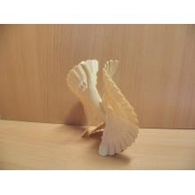 Фигурка Птица счастья d12,5см дерево без упаковки Вернисаж