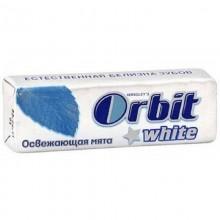 Жевательная резинка Orbit white освежающая мята 13,6г /30