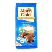 Шоколад Alpen Gold молочный 85-90г