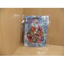 Украшение новогоднее светодиодное Новогоднее настроение пвх в пакете арт.42197 (на картоне) без батареек
